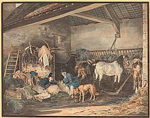 Peter Heinrich Lambert von Hess – Im Pferdestall