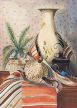Christian Arnold - Stilleben mit Vase