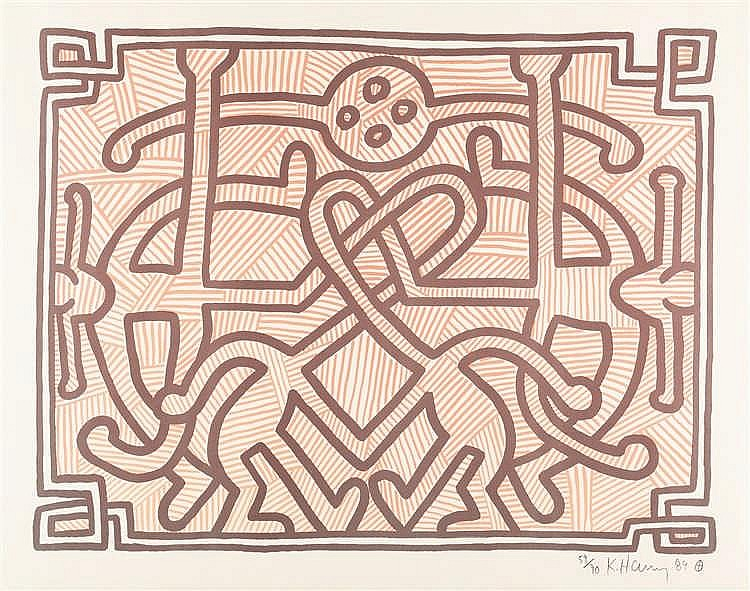 Keith Haring – Chocolate Buddha 2