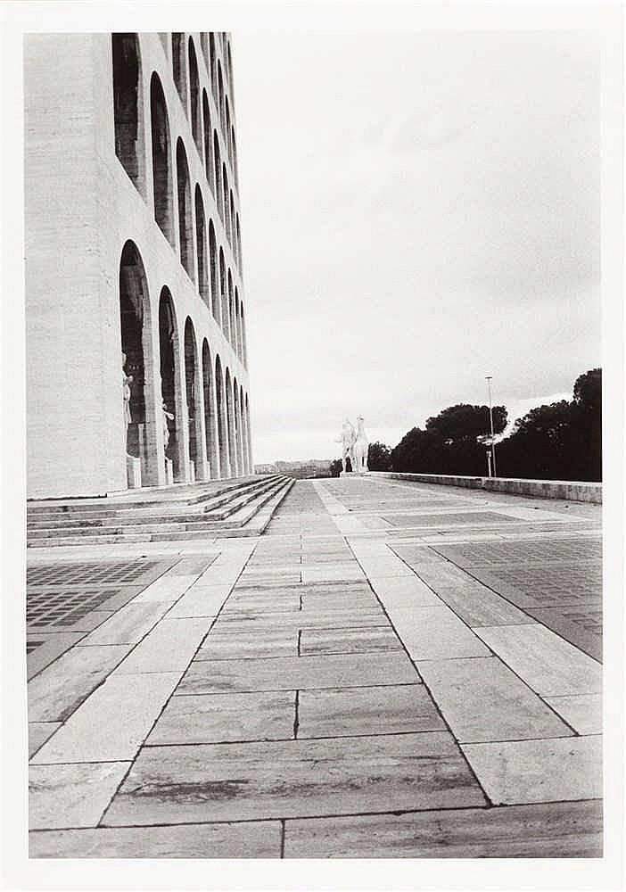 Günther Förg – 7 Bll.: Architekturaufnahmen