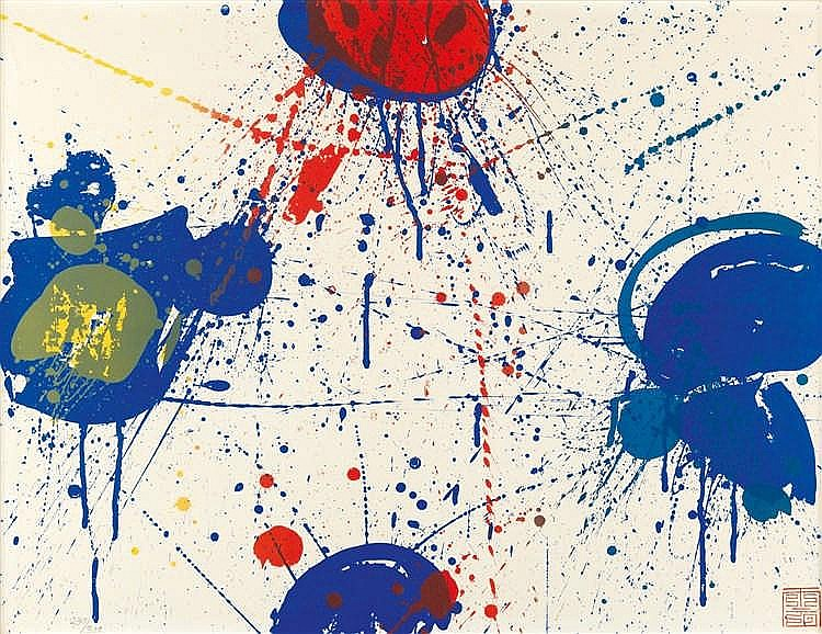 Sam Francis – The upper red