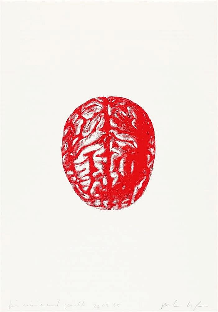 Peter Kogler – 2 Bll.: Gehirn