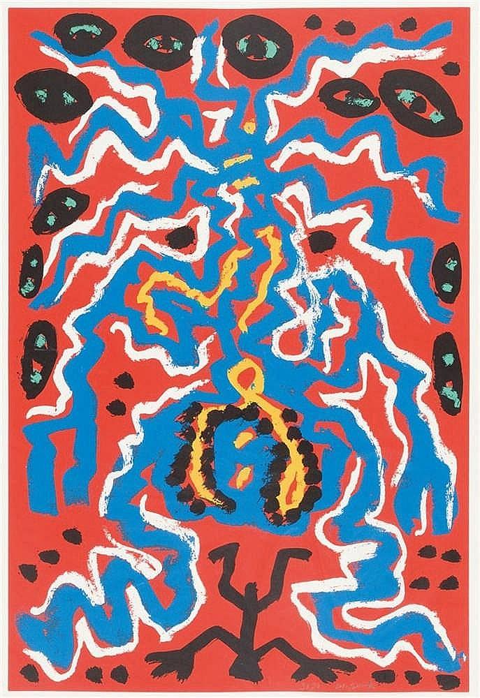 A. R. Penck – Ohne Titel