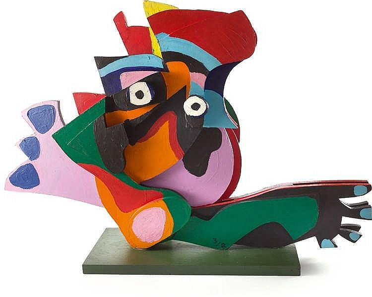 Karel Appel – Crowned Owl aus: Circus Series