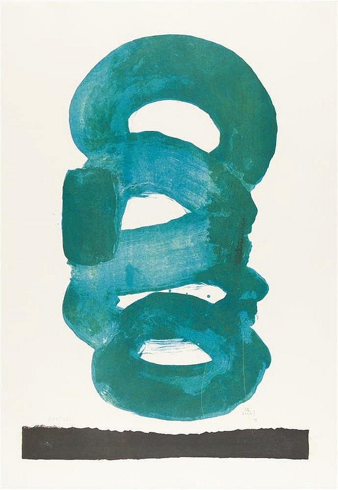 Kumi Sugai – 2 Bll.: Le vent vert – Bleu'60Rauhut