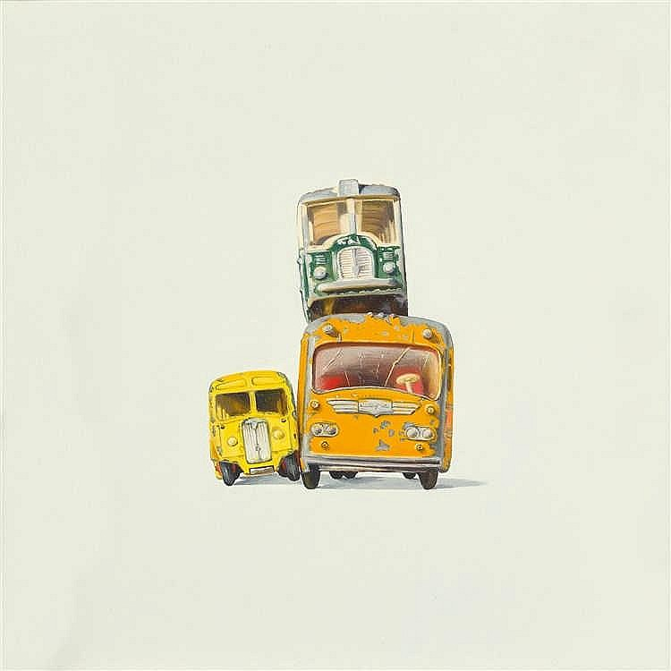 "Jeremy Dickinson – ""BUS FRONTS I"""