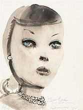 "Marlene Dumas – ""Barbie (with pearl necklace)"""