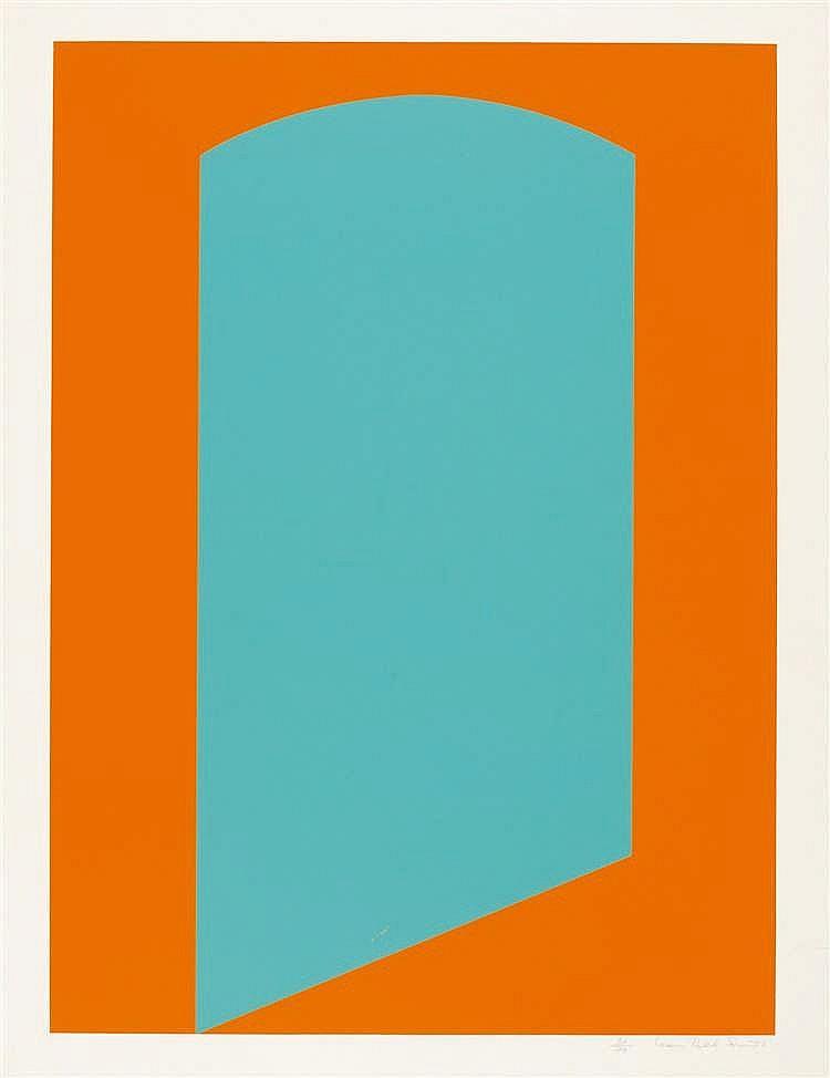 Leon Polk-Smith – Bl. aus: Formen der Farbe