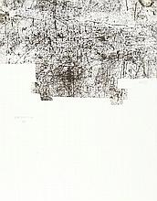 Eduardo Chillida – Bl. II aus: Yves Bonnefoy: Une Hélène de vent ou de fumé