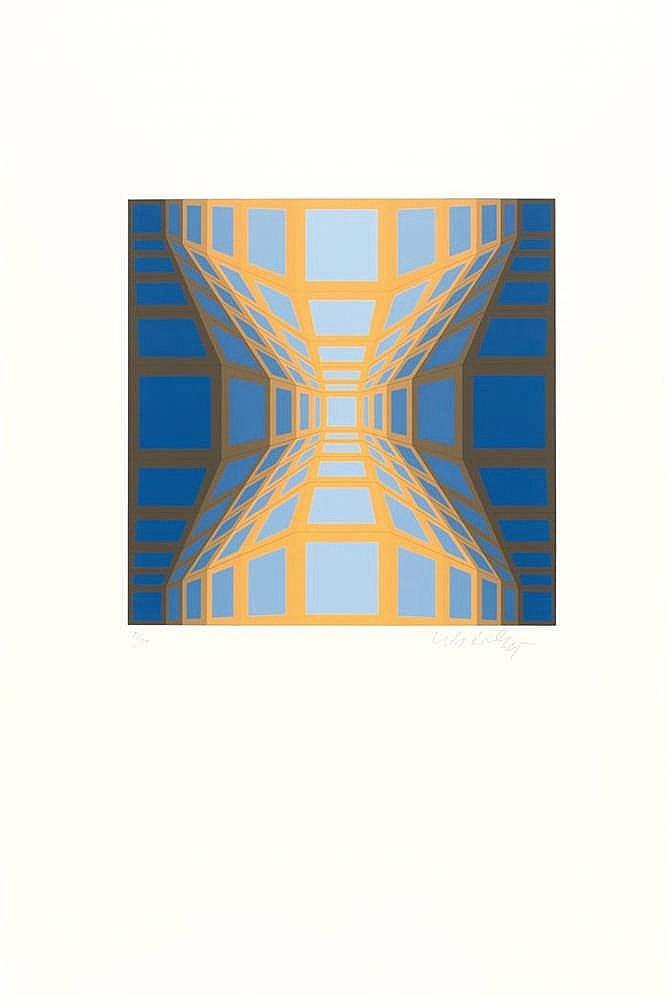 Victor Vasarely – Ohne Titel