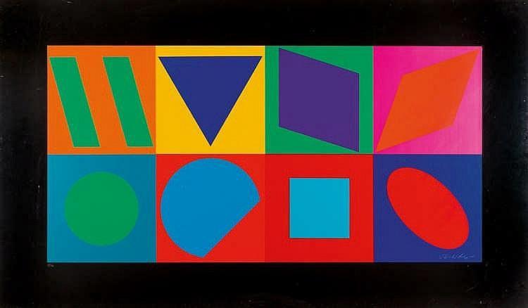 Victor Vasarely – Komposition