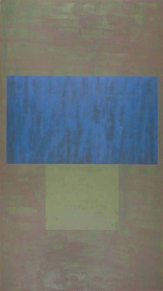 "Jon Groom – ""Untitled Blue + Green"""