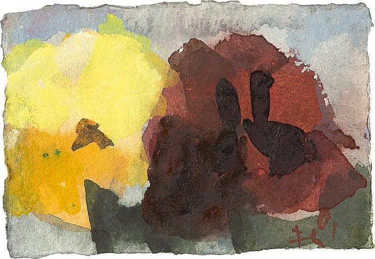 Klaus Fußmann – Blumen