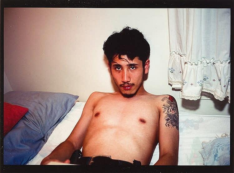Nan Goldin – Kee in bed, E.Hampton, N.Y.