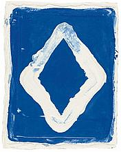 Bram Bogart – Composition bleu-blanc