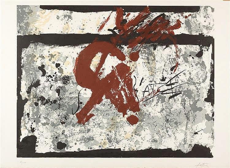 Antoni Tàpies – Ohne Titel