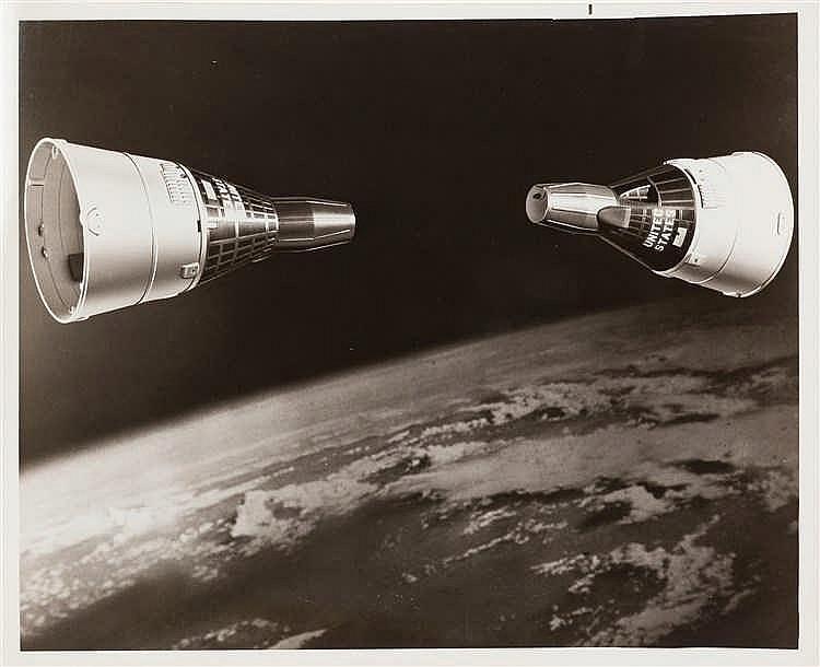 N.A.S.A. – Gemini 6 and Gemini 7