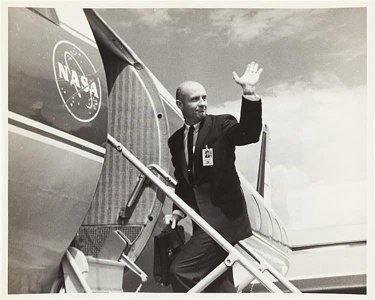 N.A.S.A. – Gemini 9 Command Pilot T. P. Stafford