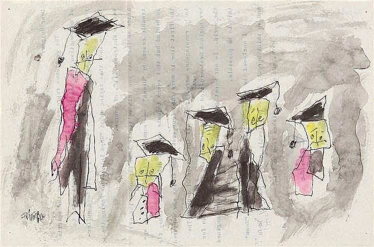 Lyonel Feininger – Ghosties (spirits of compunction)