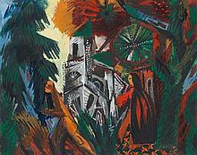 Ernst Wilhelm Nay – Die Kathedrale