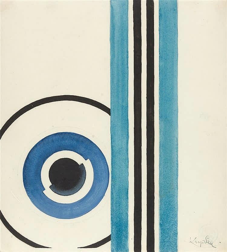 Frantisek Kupka – Komposition