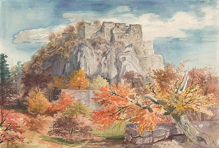 Otto Dix – Hohentwiel II (Herbst auf dem Hohentwiel)