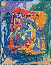 Adolf Hölzel – Figürliche Komposition