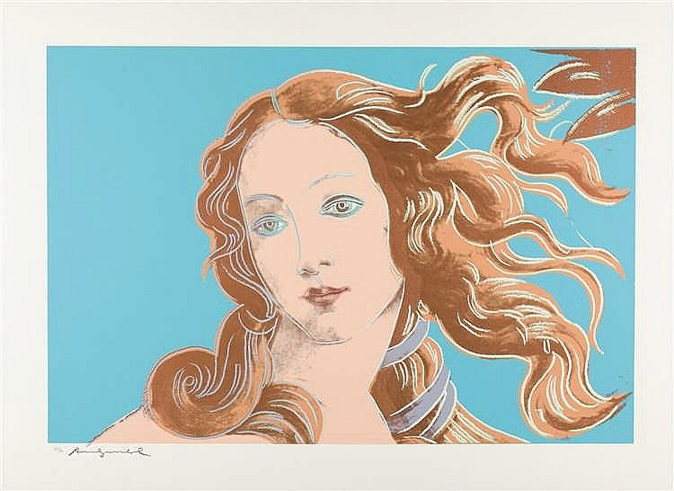 Andy Warhol – Venus from Details of Renaissance Paintings (Sandro Botticelli)