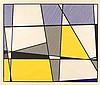 Roy Lichtenstein – Cow going abstract (Triptychon)