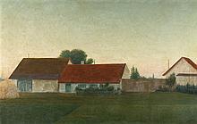 Georg Schrimpf – Häuser in Pasing