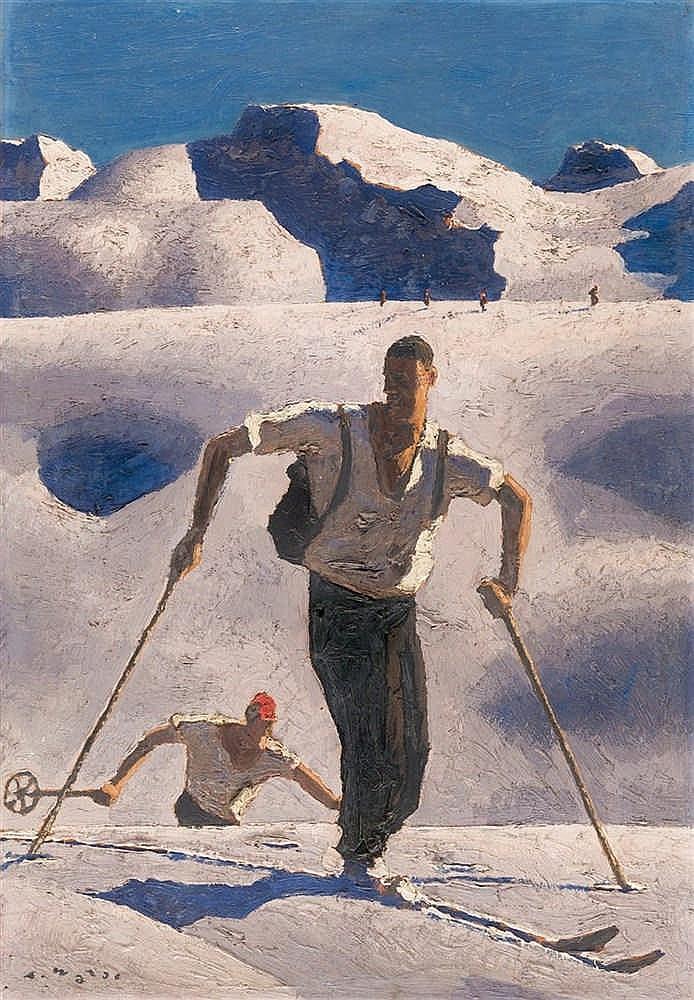 Alfons Walde – Der Aufstieg