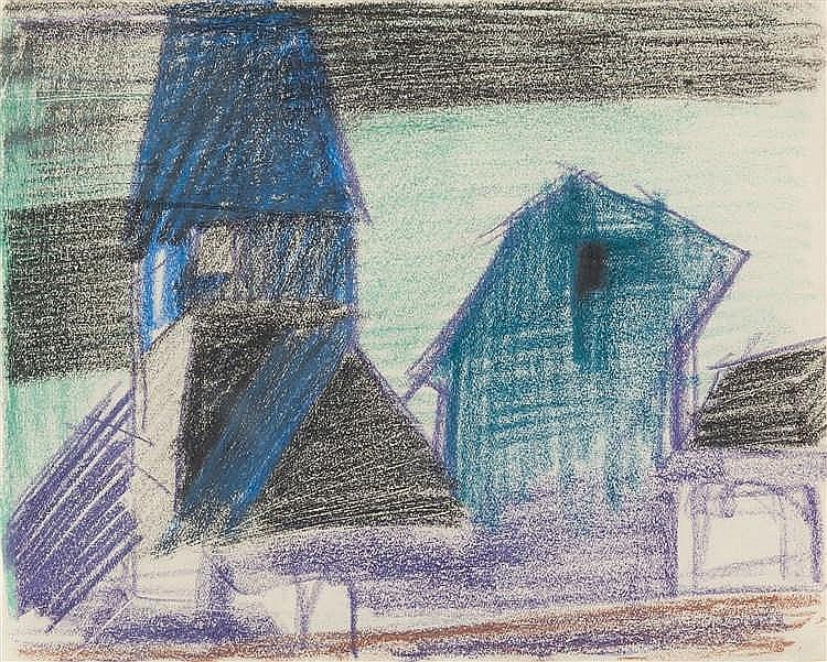 Lyonel Feininger – Kirche in Gelmeroda