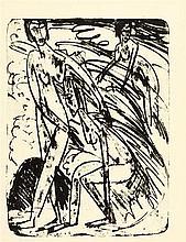 Ernst Ludwig Kirchner – Badende in Wellen
