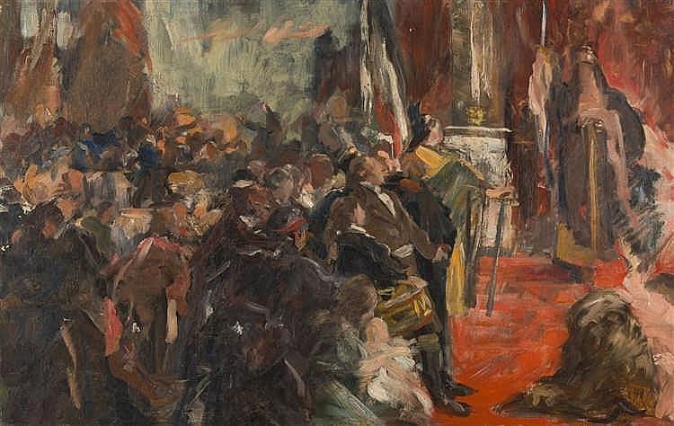 Ferdinand Brütt – Hammonia (Studie)