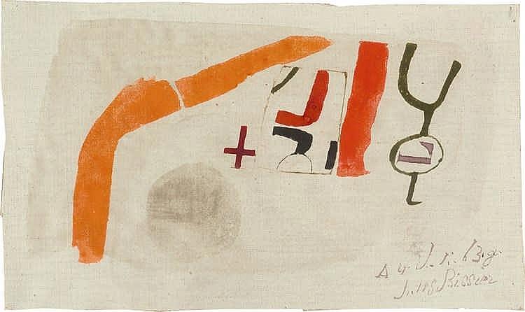 """Julius Bissier – """"4. Juli 63"""""""