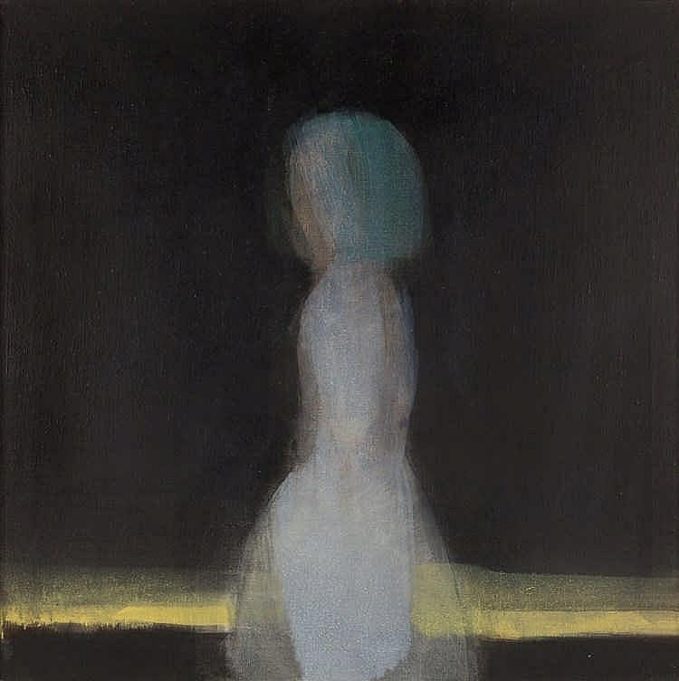 Leiko Ikemura – Stehende in Schwarz