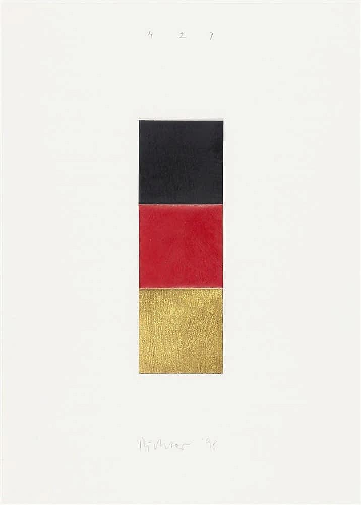 Gerhard Richter – Schwarz, Rot, Gold I