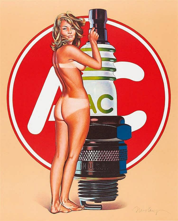 Mel Ramos – 4 Bll: A.C. Annie - Lola Cola - Tobacco Red - Della Monty