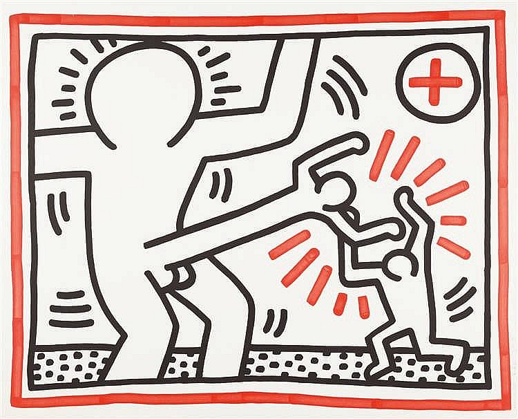 Keith Haring – Untitled