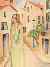 Christian Arnold - Mädchen in Straße (Girl in a street)