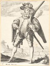 Jacques De Gheyn Ii. - Musketier