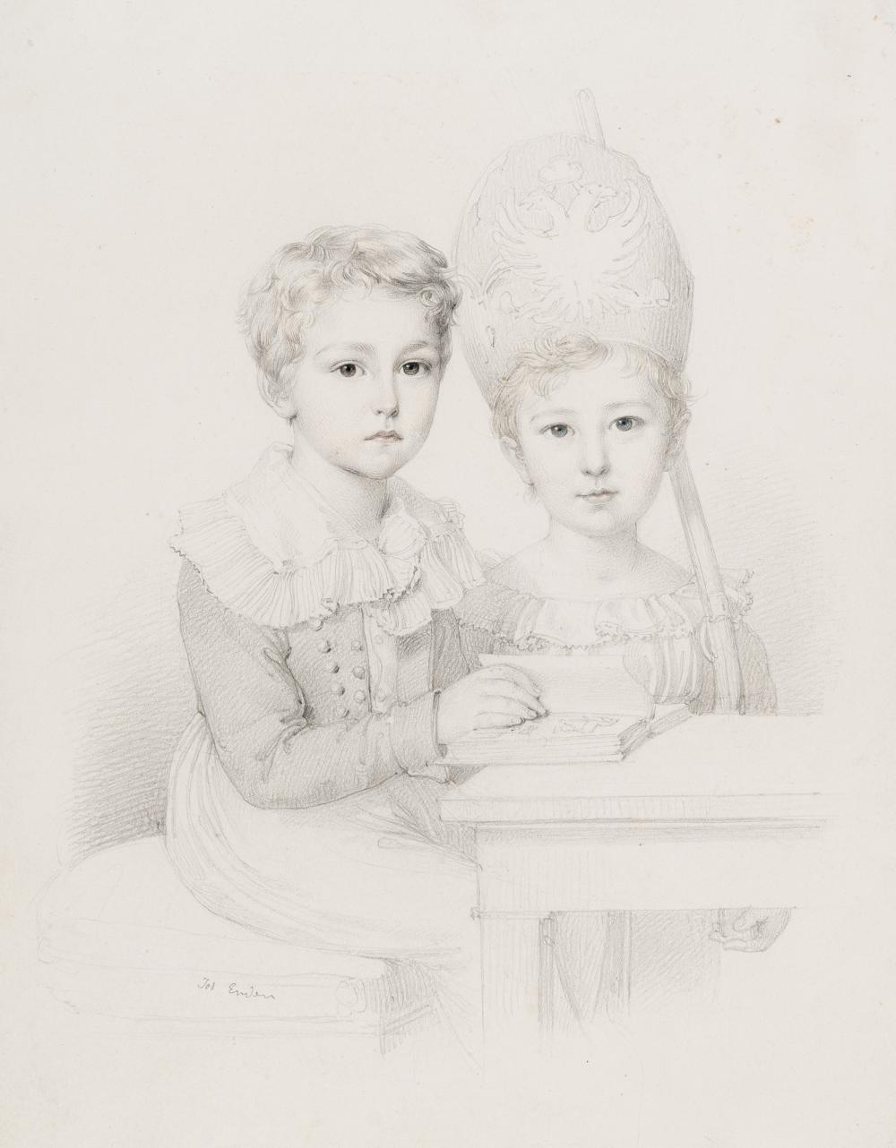 Johann Nepomuk Ender – Zwei Kinder des Grafen Széchényi