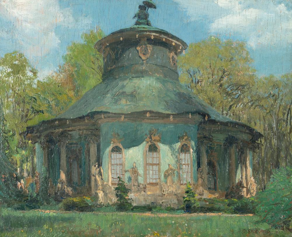 Curt Stoeving – Chinesisches Teehaus in Sanssouci