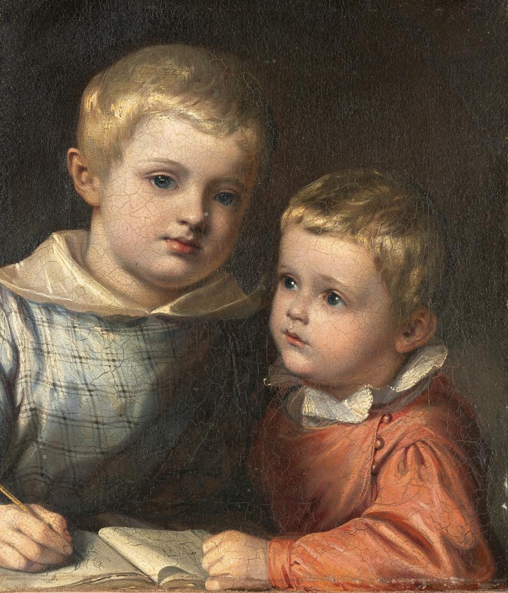 Karl August Aerttinger – Zwei Geschwisterkinder