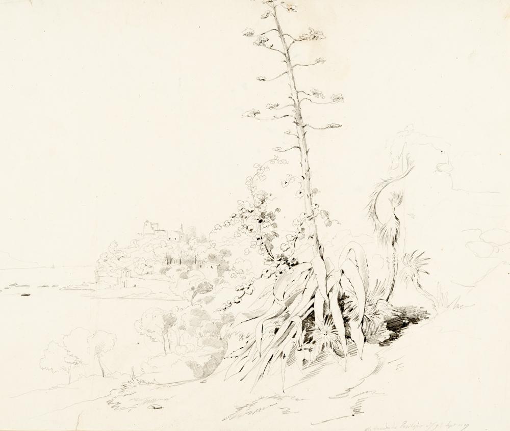 Johann Jacob Frey – Küste bei Posilippo