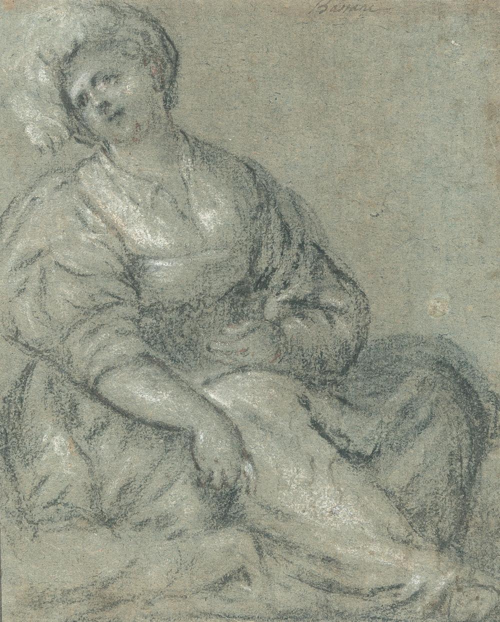 Jacopo Da Ponte, Gen. Bassano (Umkreis) – Sitzende weibliche Figur