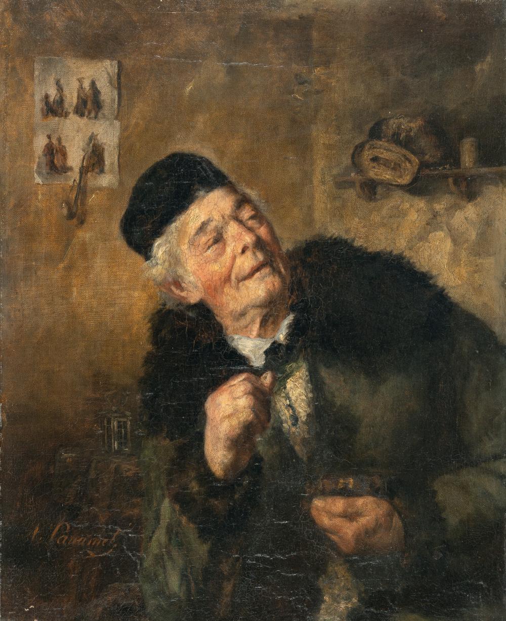 Honoré Daumier (Umkreis) – Der Kunstkenner