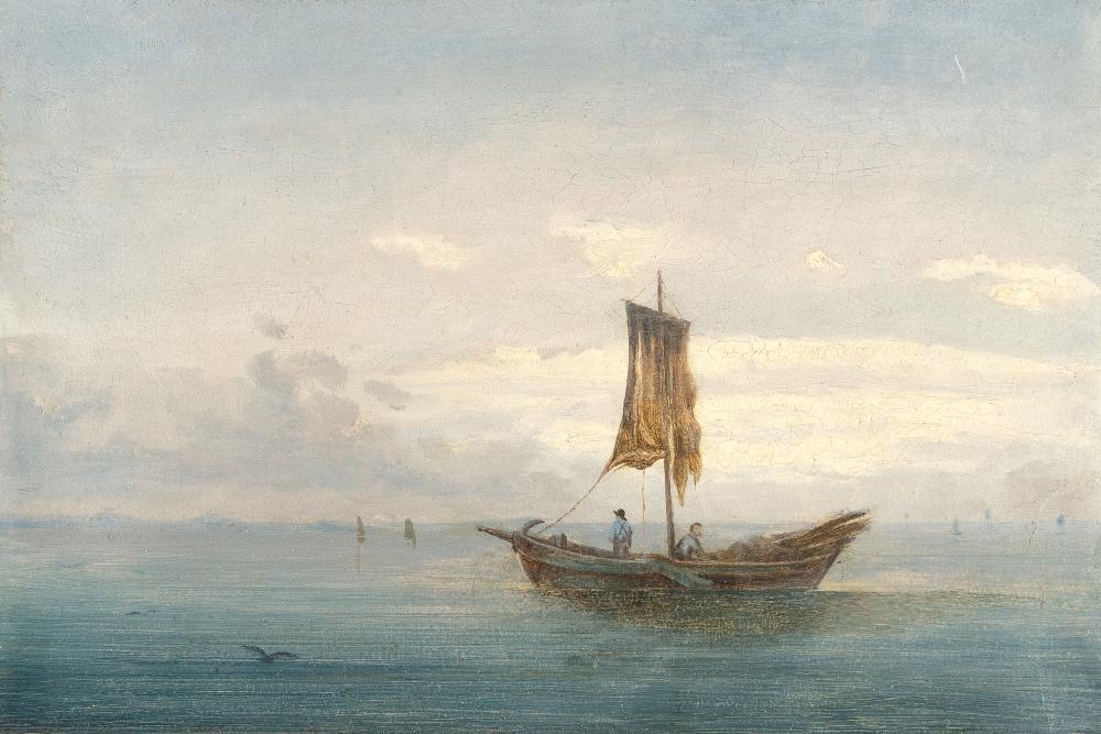 Dresdner Romantiker – Fischer auf See