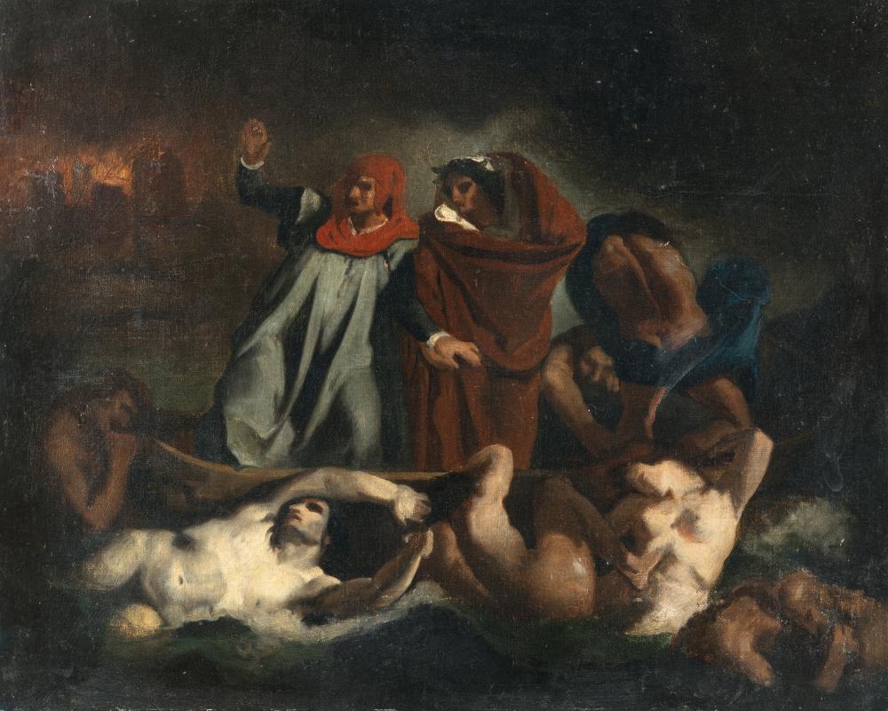 Französisch – Die Dantebarke