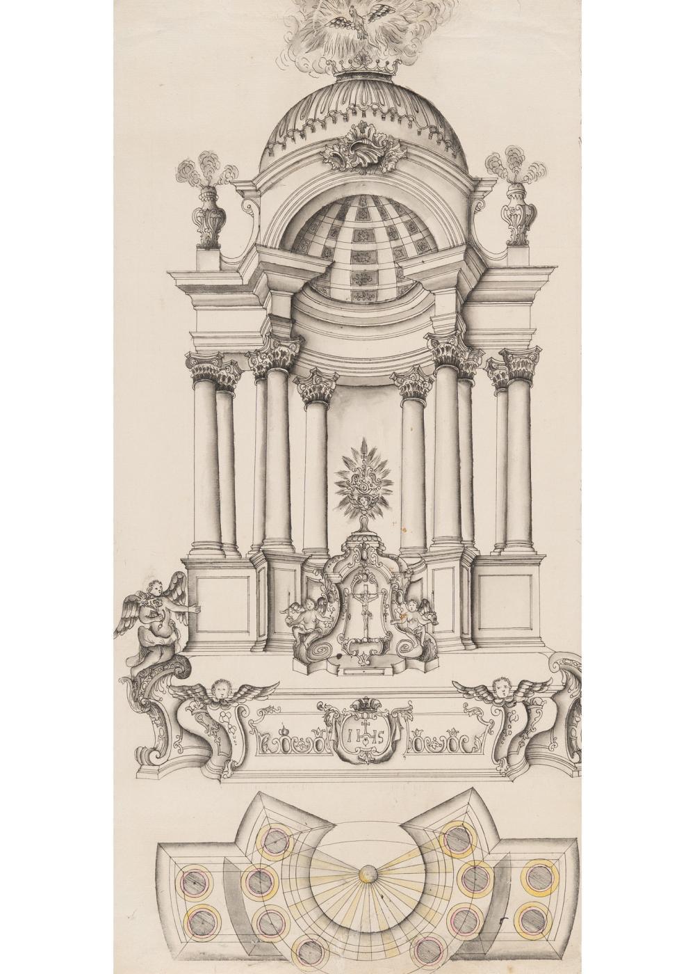 Österreichisch – Entwurf für einen Altar